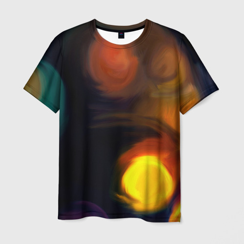 Мужская футболка 3D  Фото 01, Живопись