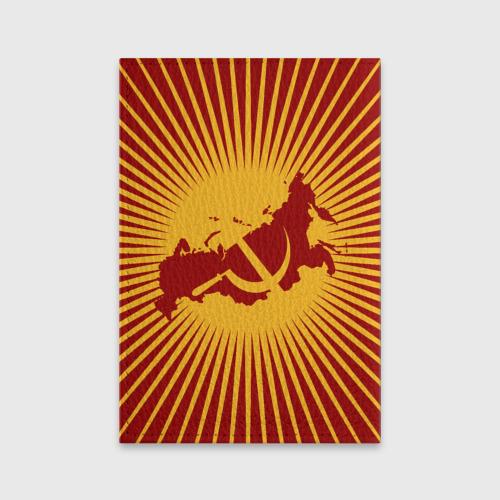 Обложка для паспорта матовая кожа  Фото 02, Советская Россия