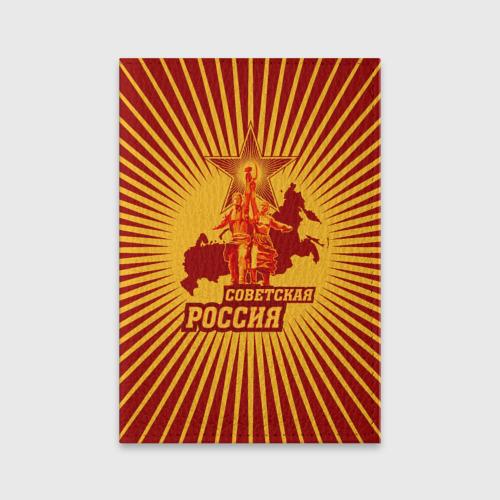 Обложка для паспорта матовая кожа  Фото 01, Советская Россия