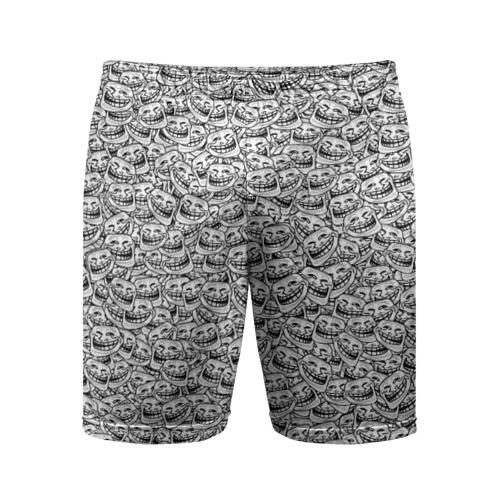 Мужские шорты 3D спортивные Мегатролль