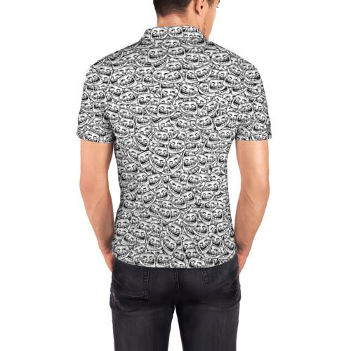 Мужская рубашка поло 3D  Фото 04, Мегатролль