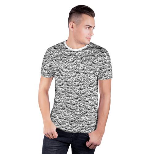 Мужская футболка 3D спортивная  Фото 03, Мегатролль