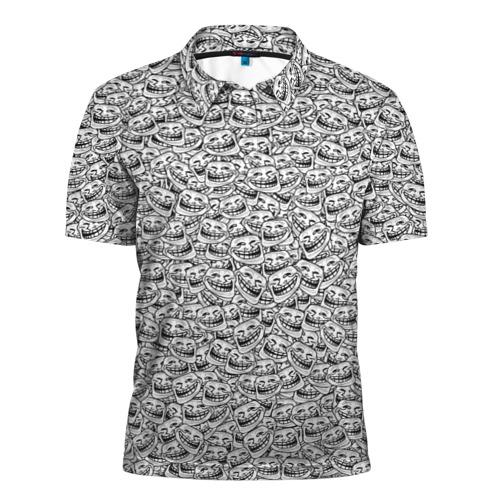 Мужская рубашка поло 3D  Фото 01, Мегатролль