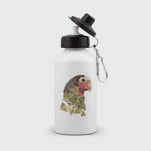 Низкополигональный попугай