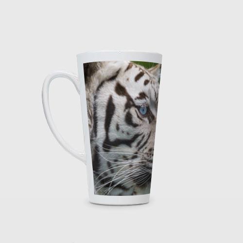 Кружка Латте  Фото 01, Белый тигр