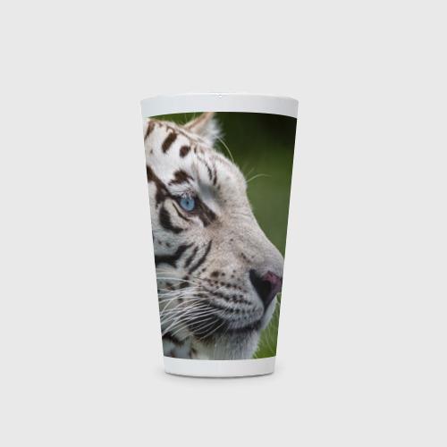 Кружка Латте  Фото 03, Белый тигр