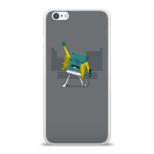 Чехол для Apple iPhone 6Plus/6SPlus силиконовый глянцевый  Фото 01, Hg