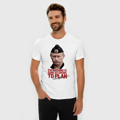 Мужская футболка премиум  Фото 03, to plan