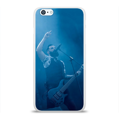 Чехол для Apple iPhone 6Plus/6SPlus силиконовый глянцевый  Фото 01, Blue