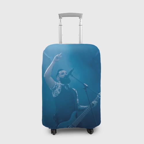 Чехол для чемодана 3D  Фото 01, Blue