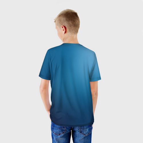 Детская футболка 3D  Фото 02, Blue
