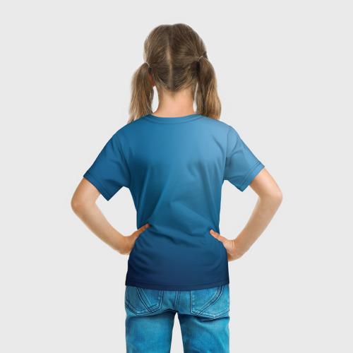 Детская футболка 3D  Фото 04, Blue
