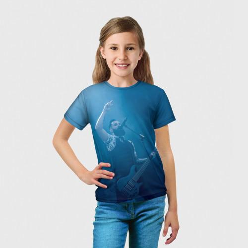 Детская футболка 3D  Фото 03, Blue