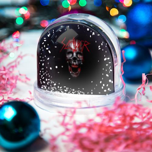 Водяной шар со снегом  Фото 03, Skull