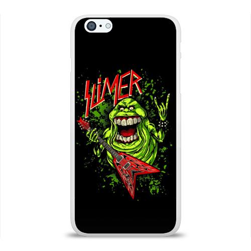 Чехол для Apple iPhone 6Plus/6SPlus силиконовый глянцевый  Фото 01, SLIMER