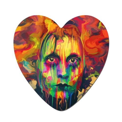 Магнит виниловый сердце  Фото 01, Face art