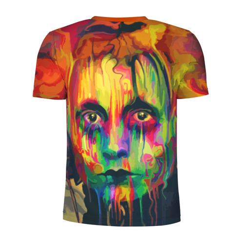 Мужская футболка 3D спортивная  Фото 02, Face art