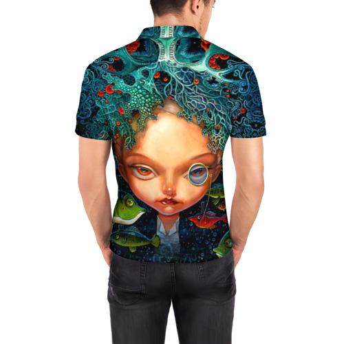 Мужская рубашка поло 3D  Фото 04, Fantasy art