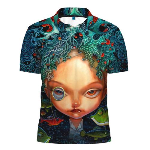 Мужская рубашка поло 3D  Фото 01, Fantasy art