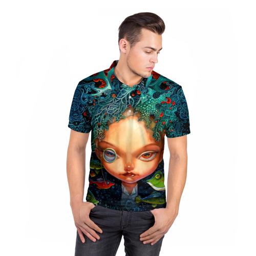 Мужская рубашка поло 3D  Фото 05, Fantasy art