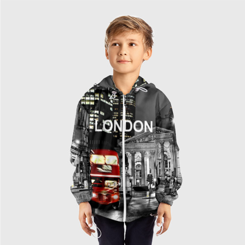 Детская ветровка 3D  Фото 03, Улицы Лондона