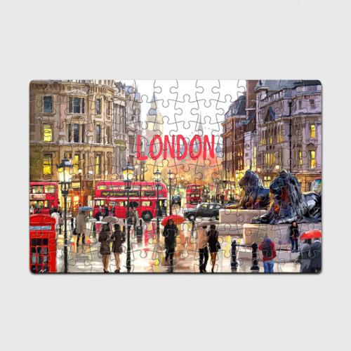 Пазл магнитный 126 элементов  Фото 01, Улицы Лондона