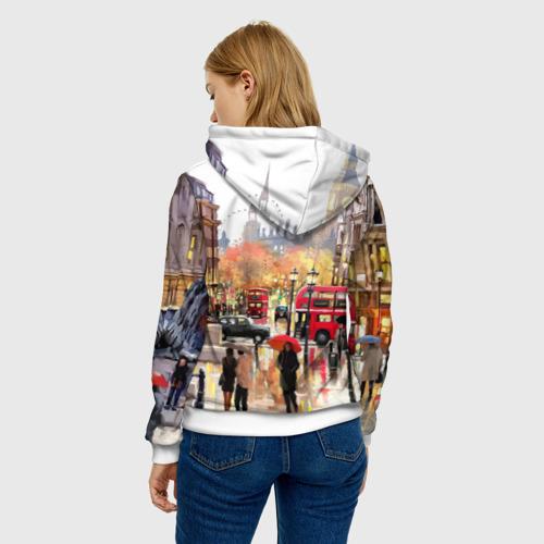 Женская толстовка 3D  Фото 04, Улицы Лондона
