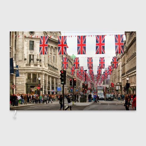 Флаг 3D Улицы Лондона Фото 01