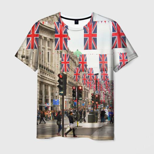 Мужская футболка 3D  Фото 03, Улицы Лондона