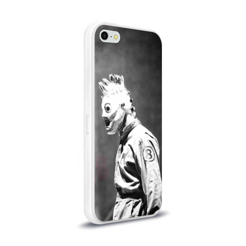Чехол для Apple iPhone 5/5S силиконовый глянцевый  Фото 02, Кори Тейлор