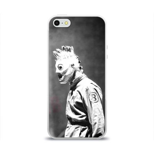 Чехол для Apple iPhone 5/5S силиконовый глянцевый  Фото 01, Кори Тейлор