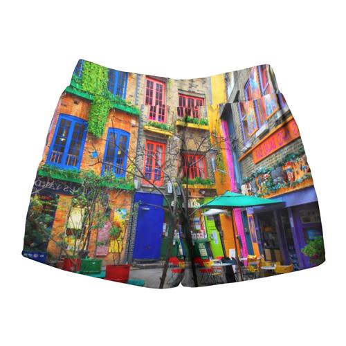 Женские шорты 3D  Фото 02, Улицы Лондона