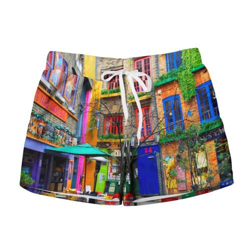 Женские шорты 3D  Фото 01, Улицы Лондона