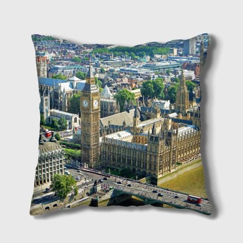 Подушка 3D  Фото 02, Улицы Лондона