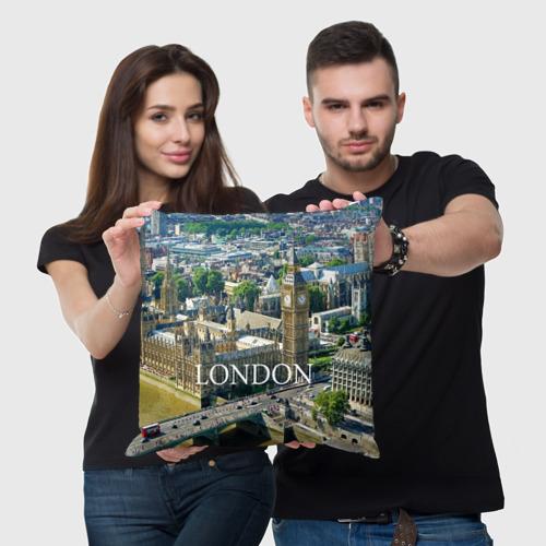 Подушка 3D  Фото 05, Улицы Лондона