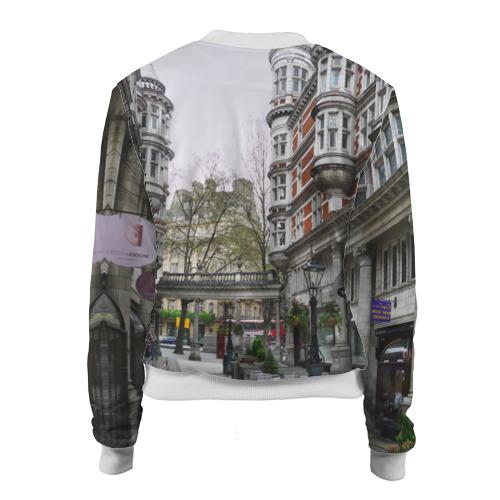 Женский бомбер 3D  Фото 02, Улицы Лондона