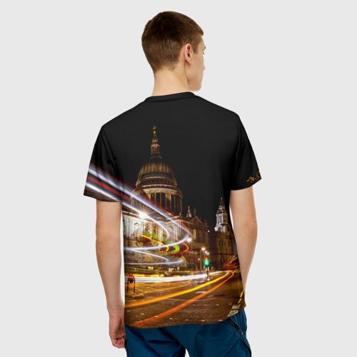 Мужская футболка 3D  Фото 02, Улицы Лондона