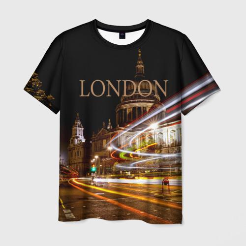 Мужская футболка 3D  Фото 01, Улицы Лондона