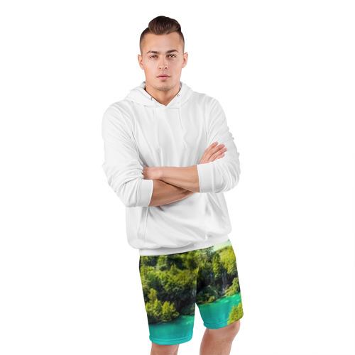 Мужские шорты 3D спортивные  Фото 05, Nature