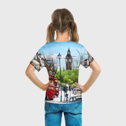Детская футболка 3D  Фото 04, Улицы Лондона