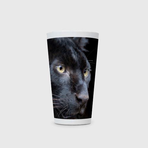 Кружка Латте  Фото 03, Черная пантера