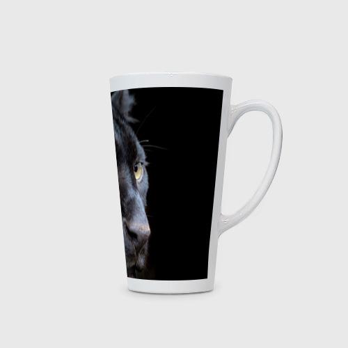 Кружка Латте  Фото 02, Черная пантера