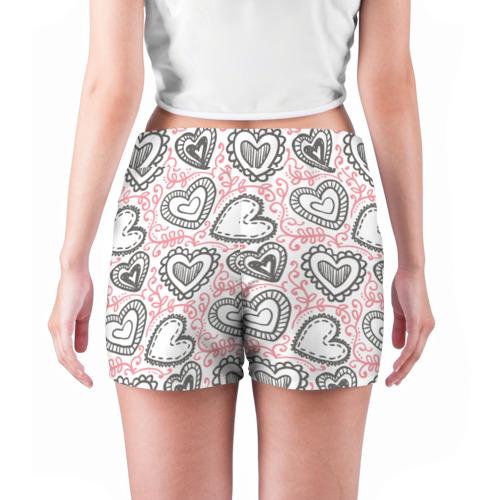 Женские шорты 3D  Фото 04, Влюбленность
