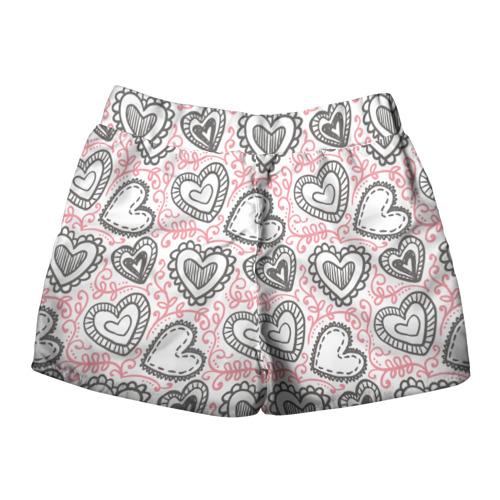 Женские шорты 3D  Фото 02, Влюбленность
