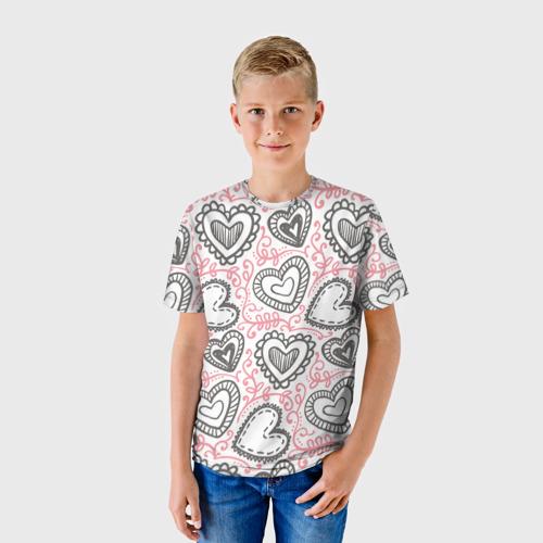 Детская футболка 3D Влюбленность