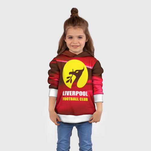 Детская толстовка 3D  Фото 01, Liverpool