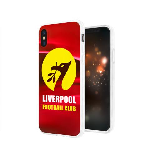 Чехол для Apple iPhone X силиконовый глянцевый  Фото 03, Liverpool