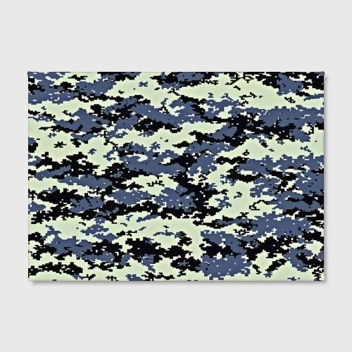 Холст прямоугольный  Фото 02, Пиксели камуфляж