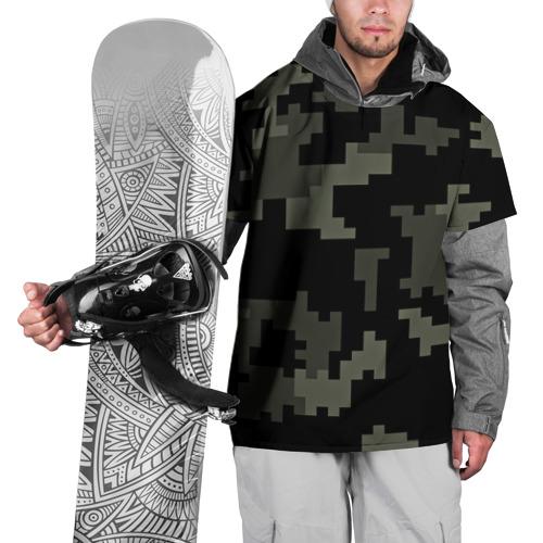 Накидка на куртку 3D  Фото 01, Городской камуфляж
