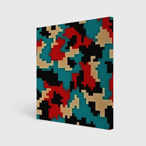 Холст квадратный  Фото 01, Camouflage